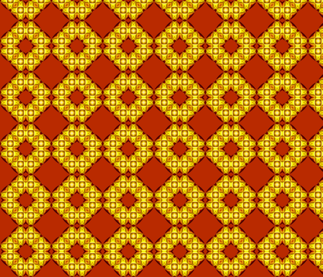 Geometric_Sun_27 fabric by stradling_designs on Spoonflower - custom fabric