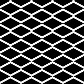 black fish net on white