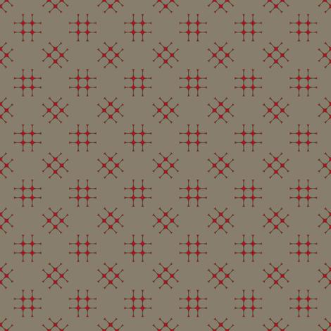 tic tac twist kakhi fabric by keweenawchris on Spoonflower - custom fabric