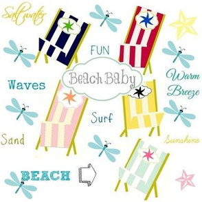 Ocean Way - Beach Baby-gray
