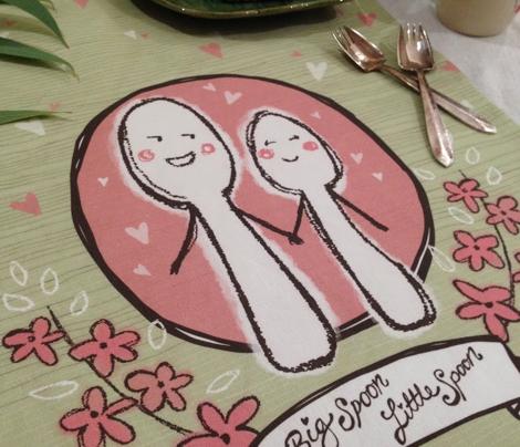 Happy Spoons - Bone