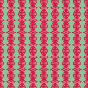 Beads Red Beige Curvy