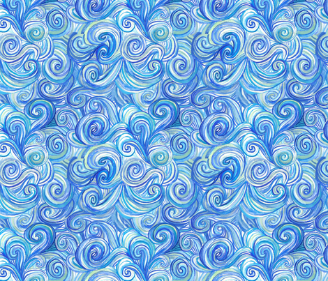 dilly dalian cokey fabric by dillydalian on Spoonflower - custom fabric
