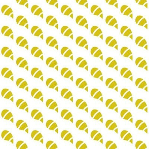 Tadpoles Mustard Lined