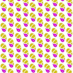 Tadpoles Mustard Purple