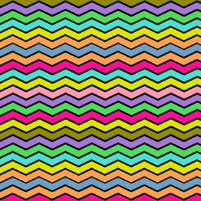 YUMMY CHEVRONS SOUR CANDY