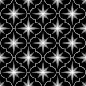 c-rhombus star - greyscale