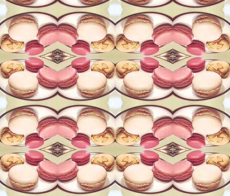 macaron sweets fabric by izkell on Spoonflower - custom fabric