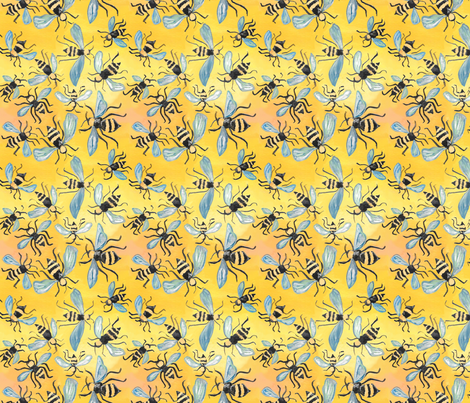 dilly dalian lisa fabric by dillydalian on Spoonflower - custom fabric