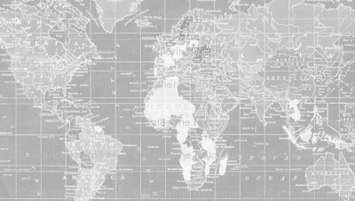 World Map in gray repeat