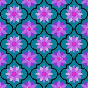 flower power madness tiled