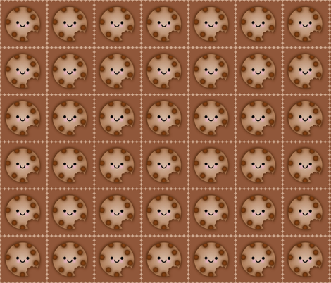 COOKIE fabric by scorpiusblue on Spoonflower - custom fabric
