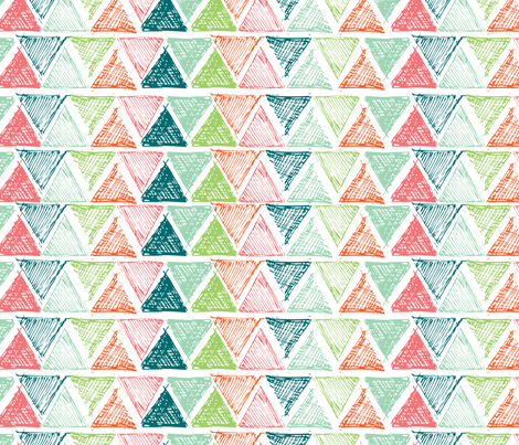 triangle_multi fabric by jennifer_hohner on Spoonflower - custom fabric