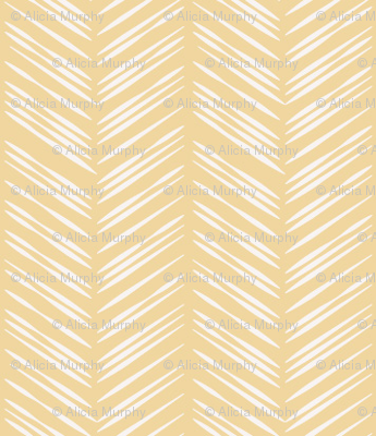 Herringbone: Yellow