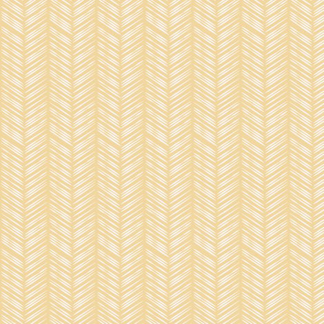 Herringbone: Yellow fabric by lifebymom on Spoonflower - custom fabric