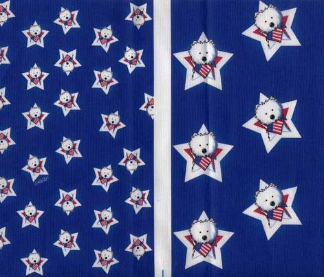 Westie Stars & Stripes