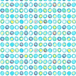 Blue Chalk Circles