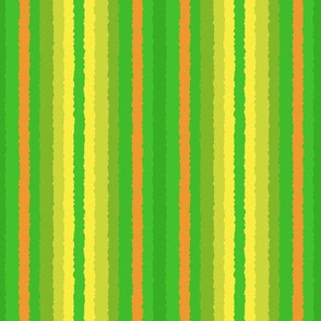 Crystallized Stripe in Yellow and Green