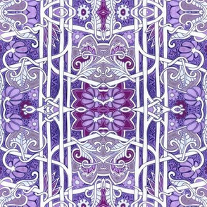 Purple Victorian Twist