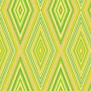 Yellow and Green Harlequin
