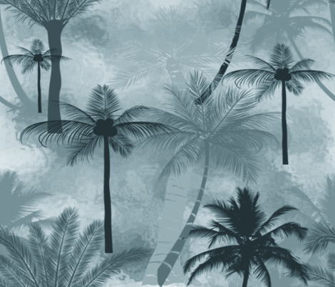 RENDEZVOUS fabric by bluevelvet on Spoonflower - custom fabric