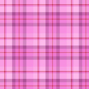 Pink Red Plaid