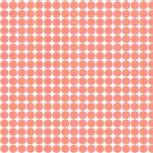 dots peach