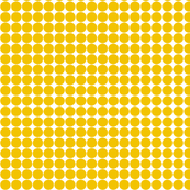 dots mustard yellow