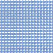 dots cornflower blue