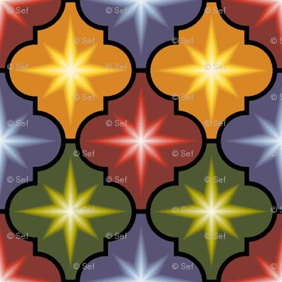 c-rhombus star - dark autumn