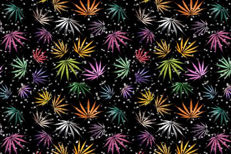 Shiny Sativa fabric by camomoto on Spoonflower - custom fabric