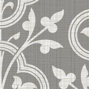 Norman Vines ~ Pewter Linen Luxe