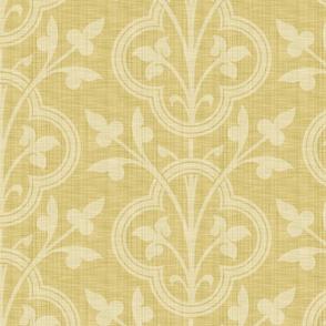 Norman Vines ~ Trianon Cream Linen Luxe
