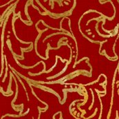 Rrhere_there_be_dragons___gilt_gold_on_royal_red_linen___peacoquette_designs___copyright_2015_shop_thumb