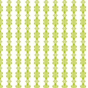Beads White Olive Curvy