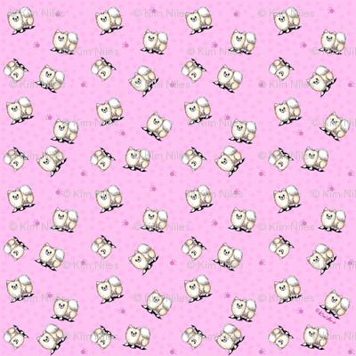 TINY Mini Pom Girls (SMALLEST)