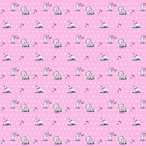 KiniArt Cupcake Westies Pink (Sm)