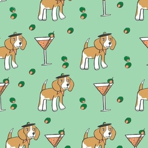 Miss Beagle Martini