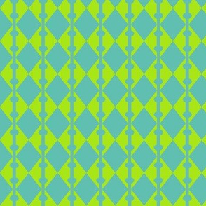 Diamonds Yellow Aqua 2