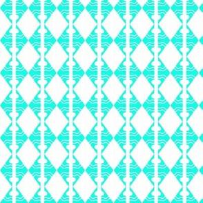Diamonds Aqua White 1