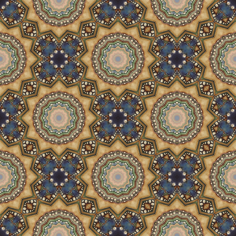 Jewel fabric by the_window_way_(kirpa) on Spoonflower - custom fabric