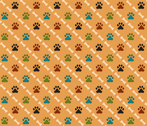 Beagles Print fabric by bags29 on Spoonflower - custom fabric
