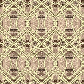 When Plaid Goes Art Nouveau