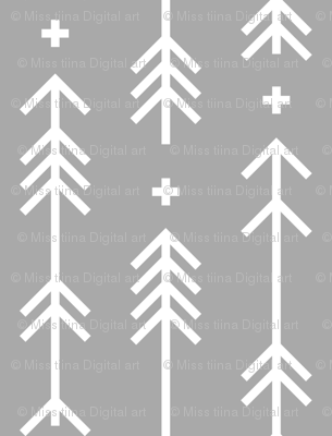 cross plus arrows grey