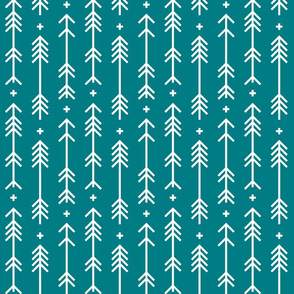 cross plus arrows dark teal