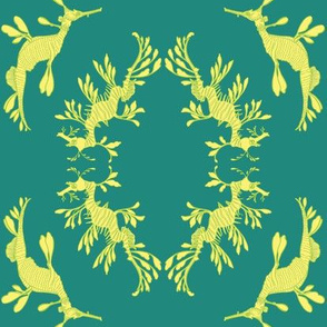 sea dragon brocade