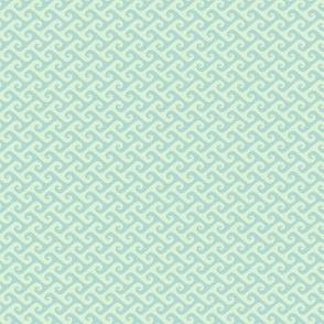 tiny tendrils in mint