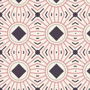 Seamless Cercls Line Pattern