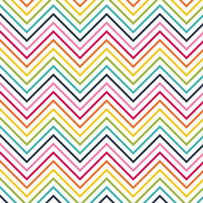 live free : love life rainbow chevron LARGE