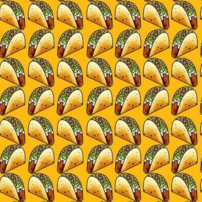 Crunchy Taco Time Yellow